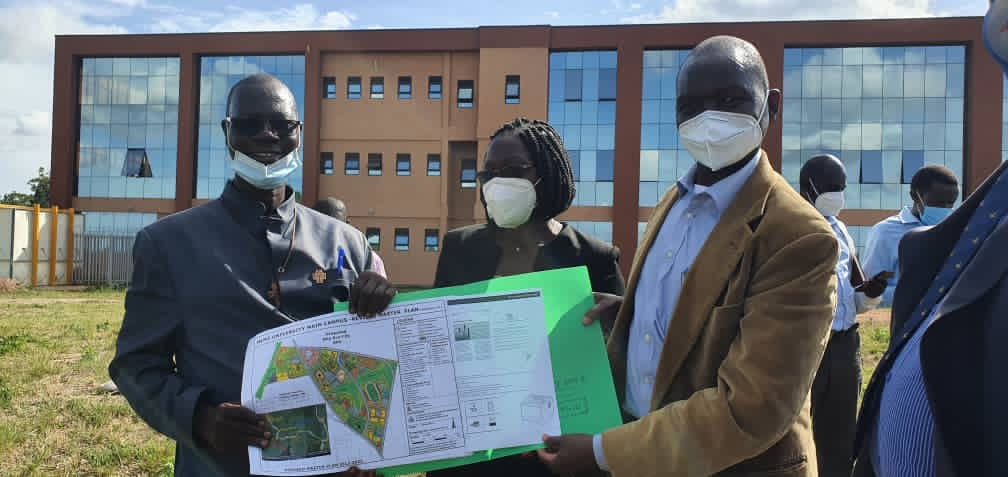UCI receives 3.5acres of land from Muni University for constructing Arua Regional Cancer Centre